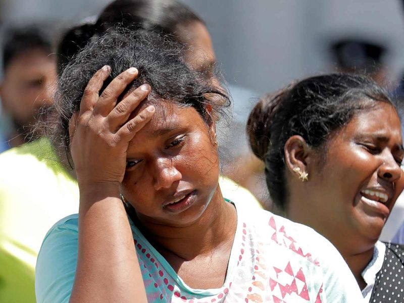 Sri Lanka terror attacks relative 20190422