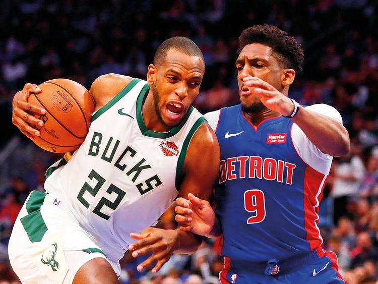 Milwaukee Bucks forward Khris Middleton 1