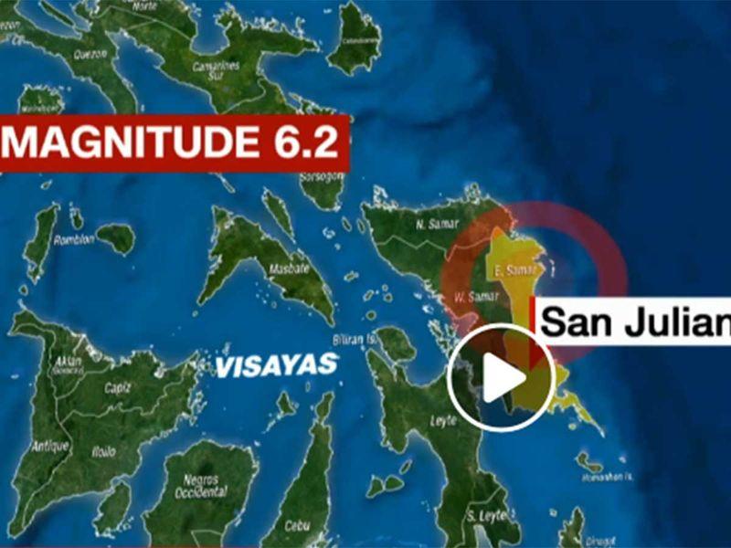 Quake hits Visayas