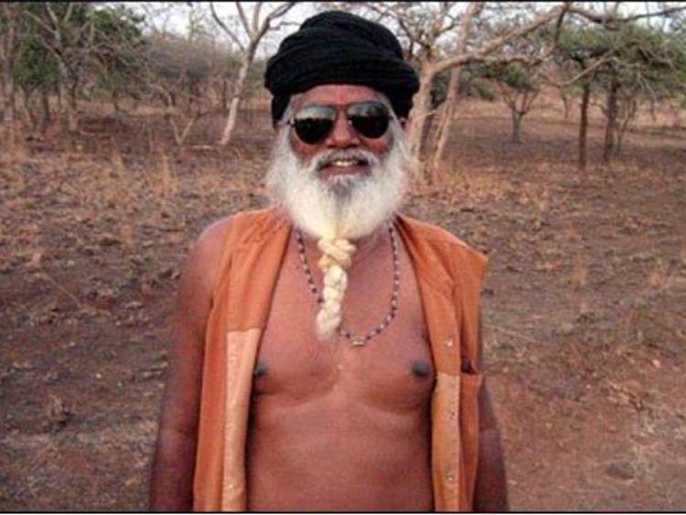 Temple priest Bharatdas Darshandas