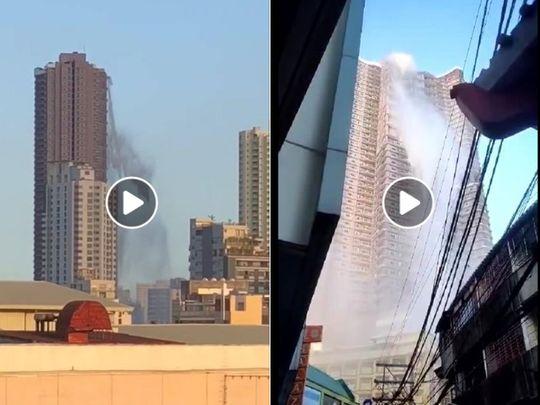 quake water tank Manila