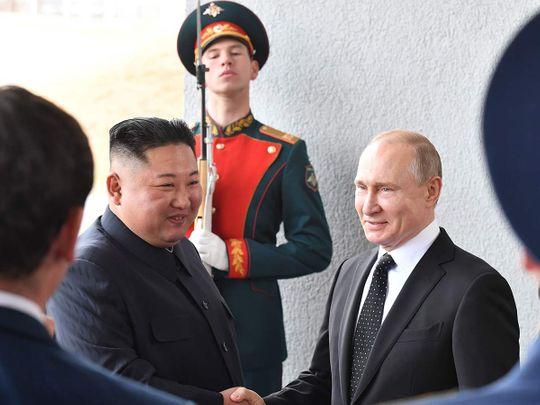 Putin and Kim 20190425