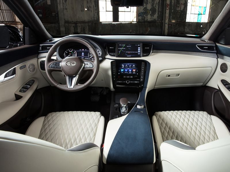 QX50 interior shot