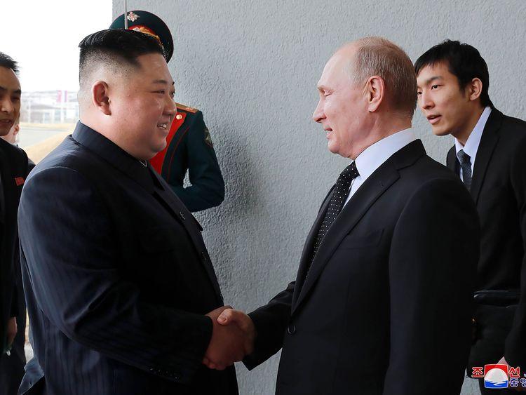 190426 Kim Putin
