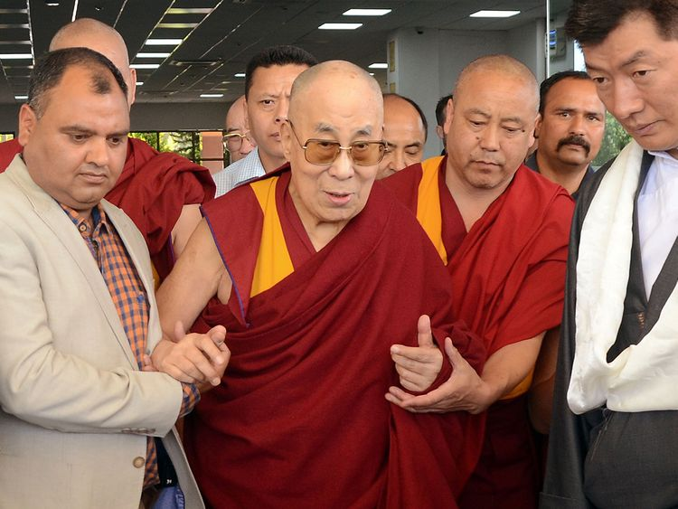 Dalai Lama returns to north India base after hospitalisation