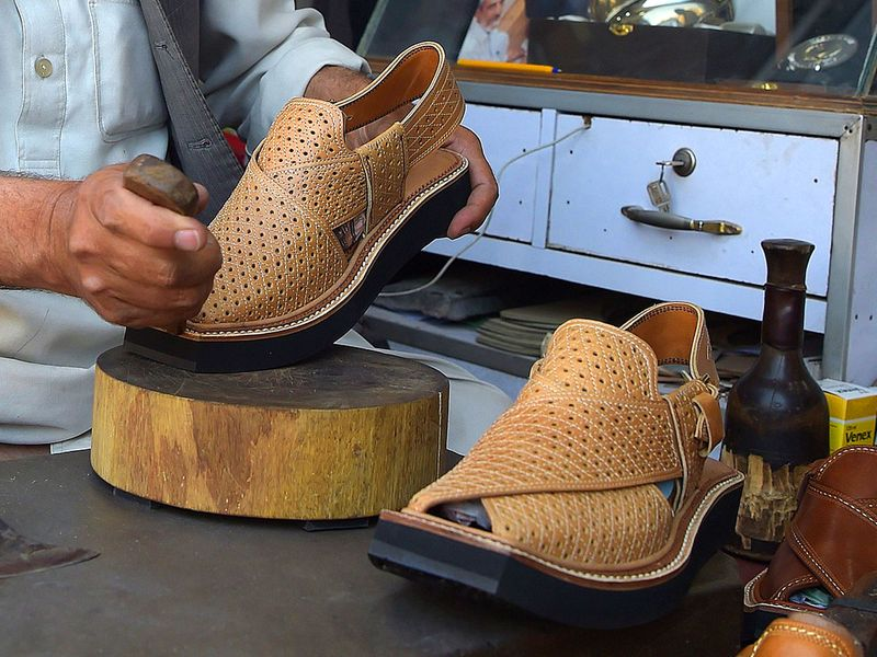 481df346dd87 Pride and pique as French shoe designer Christian Louboutin takes Pakistani  chappal global
