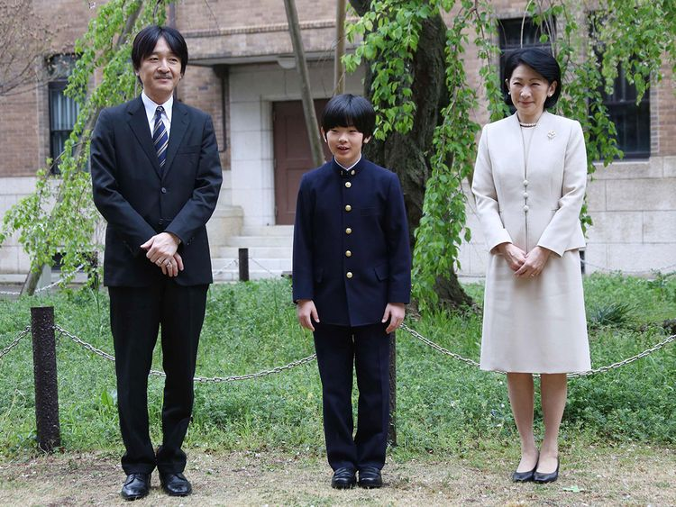 190427 Japan's Prince Hisahito