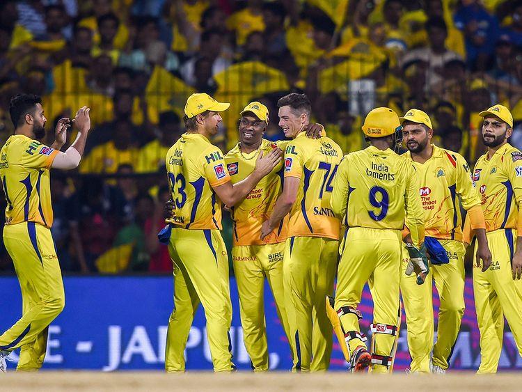 Chennai Super Kings bowler Mitchell Santner