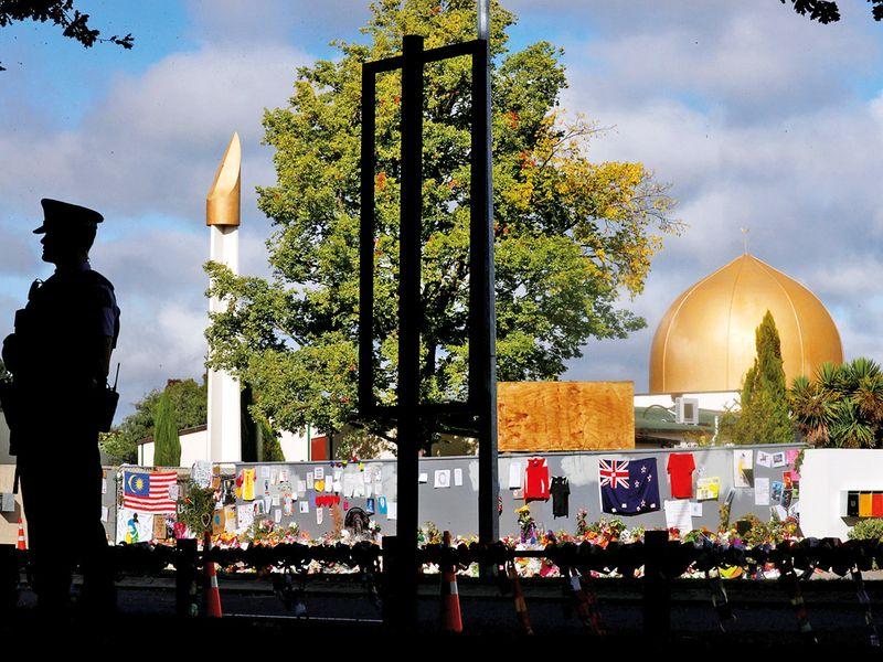 Al Noor mosque in Christchurch