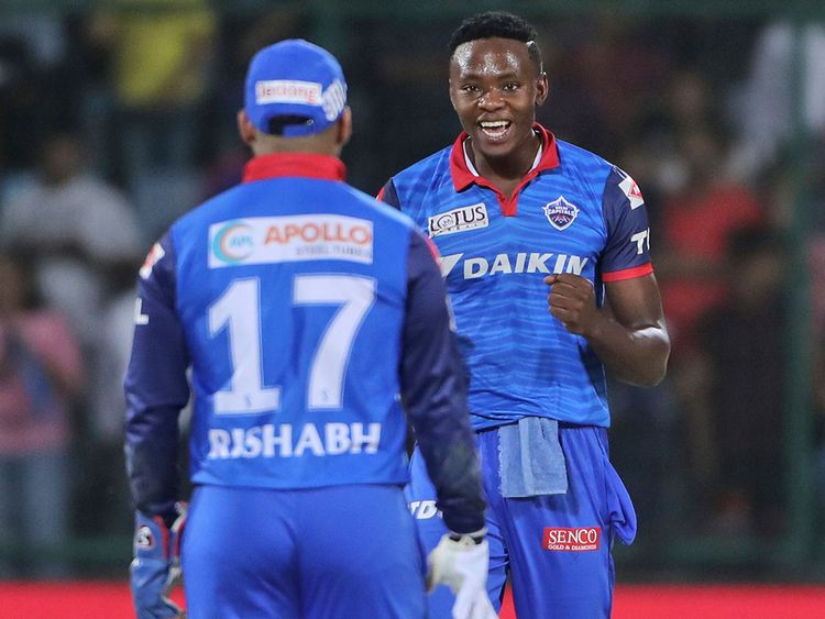 Delhi Capitals players Kagiso Rabada