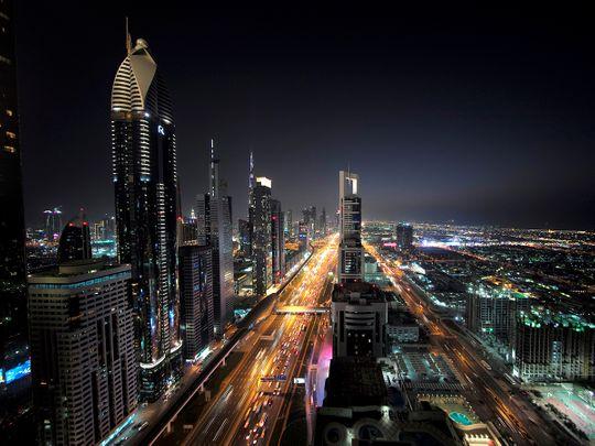 Dubai skyline, Shaikh Zayed Road, Dubai properties