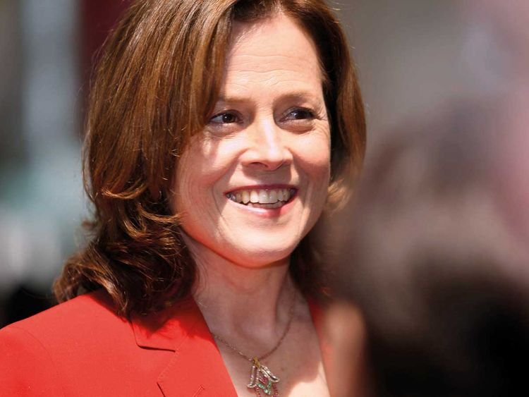 Sigourney Weaver helps school celebrate 'Alien' production