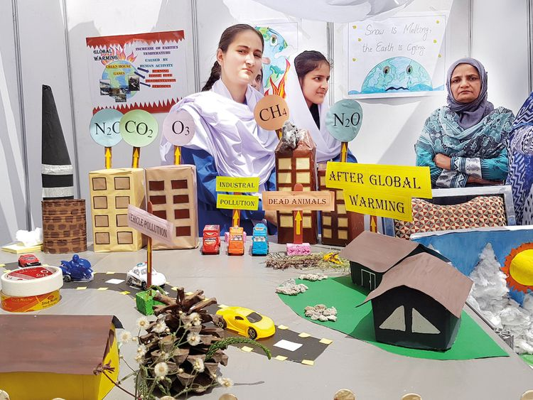 Students wow visitors at first-ever Islamabad Science