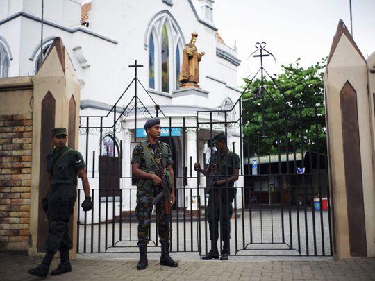 Sri Lanka church blasts Easter