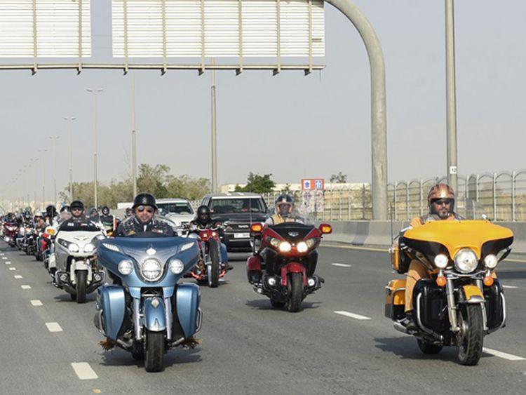 UAE bikers