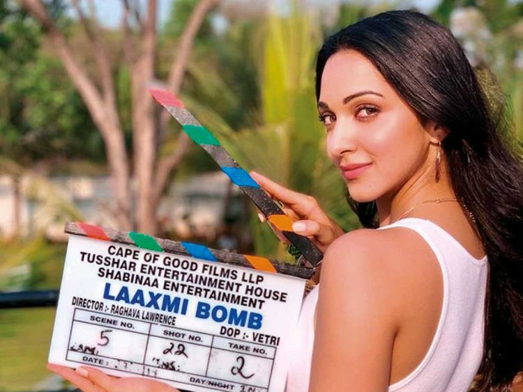 190429 Kiara and Akshay begin shooting 'Laaxmi Bomb'