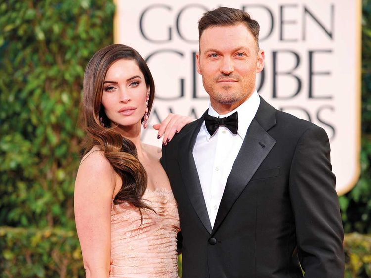 190429 Megan Fox and Brian Austin Green.