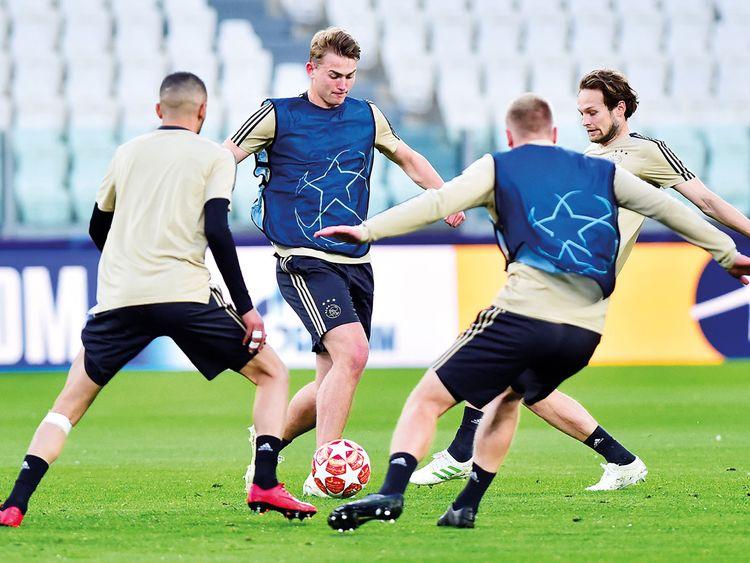 Ajax Amsterdam players