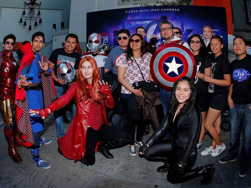 Avenger fans