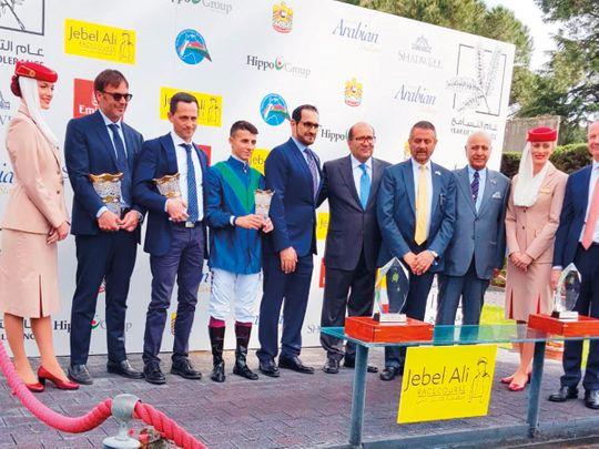 Kanaan steals the thunder in Dubai Arabian Stakes