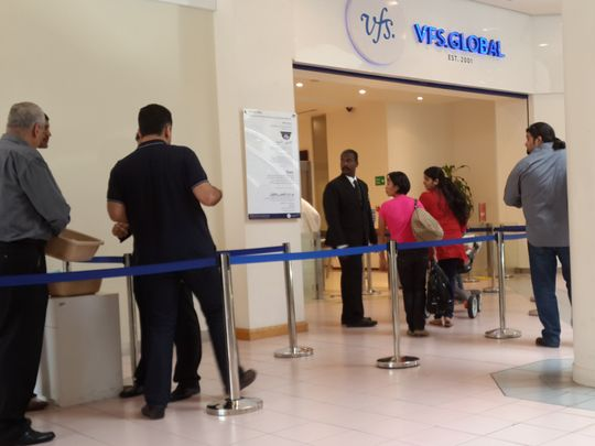 VFS website slowdown irks visa applicants