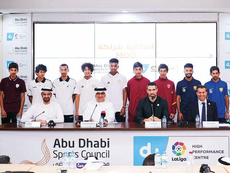 Abu Dhabi Sports Council and Du La Liga renew partnership