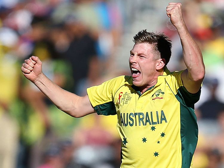 Australian cricketer James Faulkner