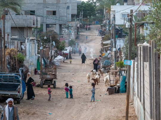 Bedouin community in Gaza
