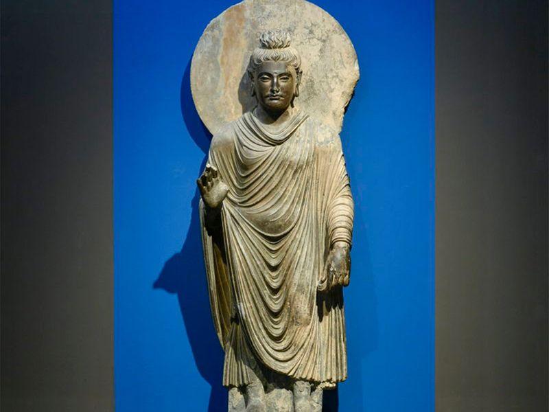 Budha from Peshawar Museum