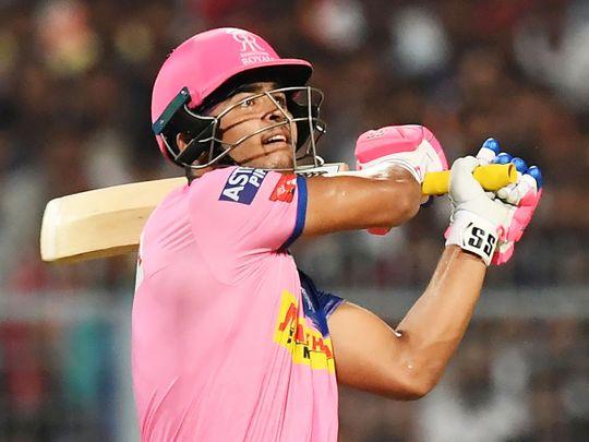 Rajasthan Royals' cricketer Riyan Parag