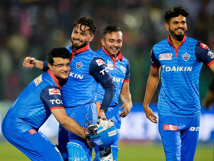 Delhi Capitals team mentor Sourav Ganguly