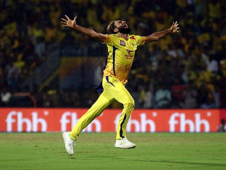Imran Tahir of Chennai Super Kings-090