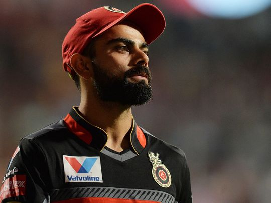 Royal Challengers Bangalore captain Virat Kohli