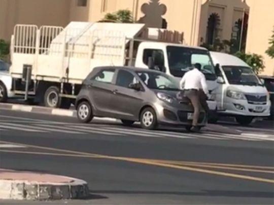 Screen grab viral video
