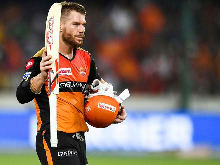 Sunrisers Hyderabad cricketer David Warner.
