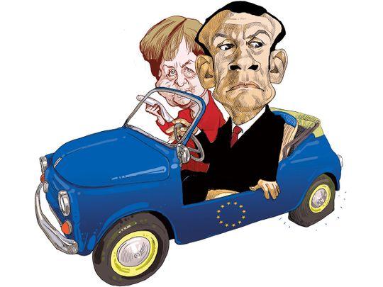 Why Macron's designs on Merkel failed