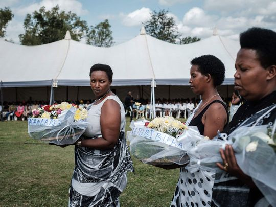 190504 mass funeral Rwanda