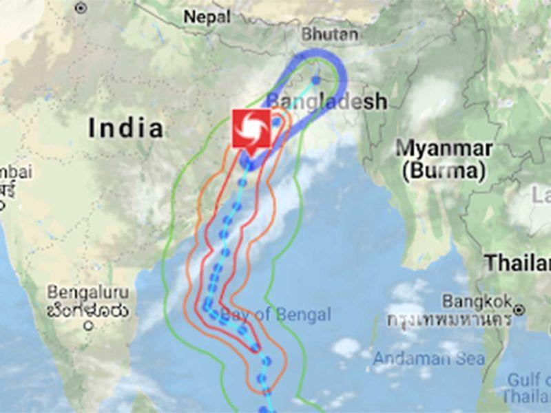 Cyclone Fani West Bengal