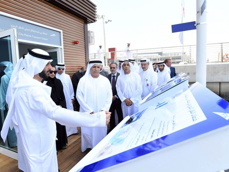 Video: UAE's first floating marine station opens