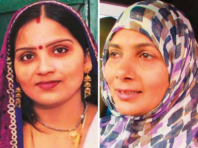 Kavita Singh and Heena Shabab