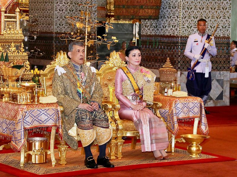 King Maha Vajiralongkorn and Queen Suthida