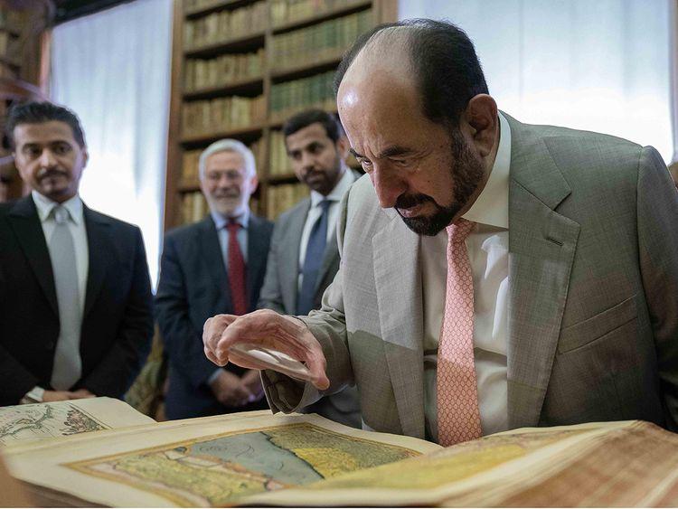 His Highness Dr Shaikh Sultan Bin Mohammad Al Qasimi