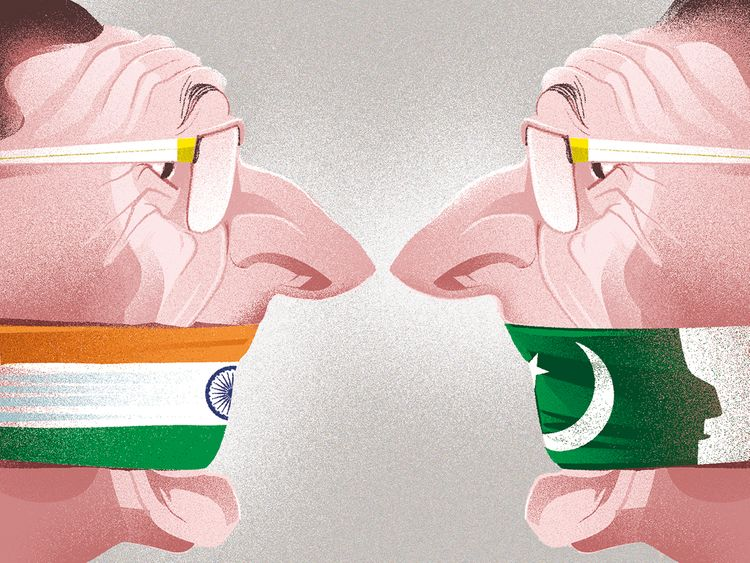 India, Pakistan waging war on their own media