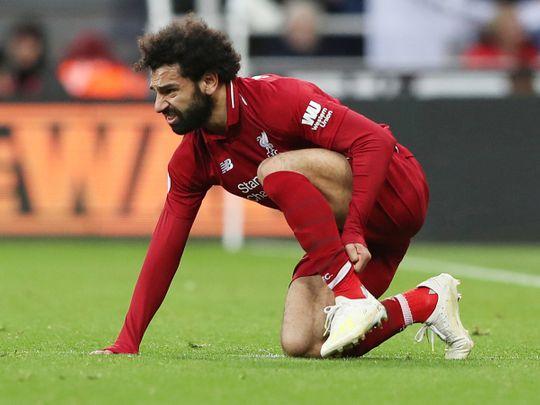 Liverpool's Mohammad Salah