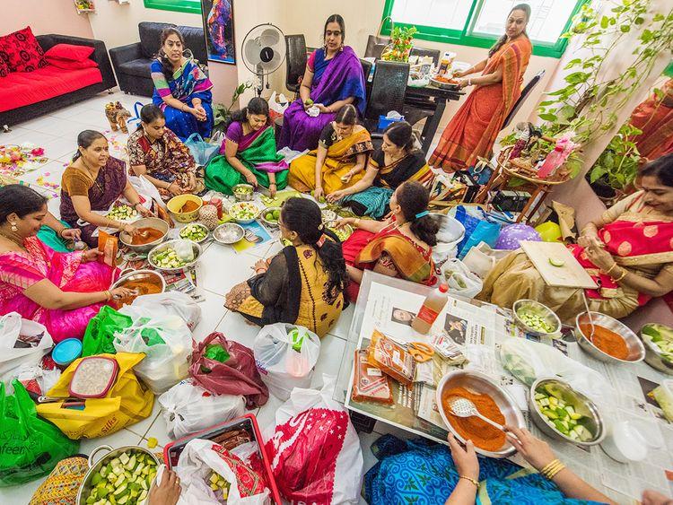 Women from Telangana and Andhra Pradesh