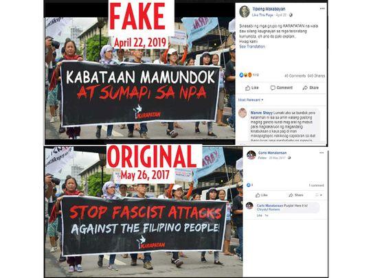 Fake versus original