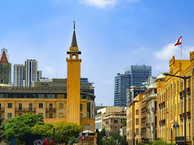 Lebanon skyline
