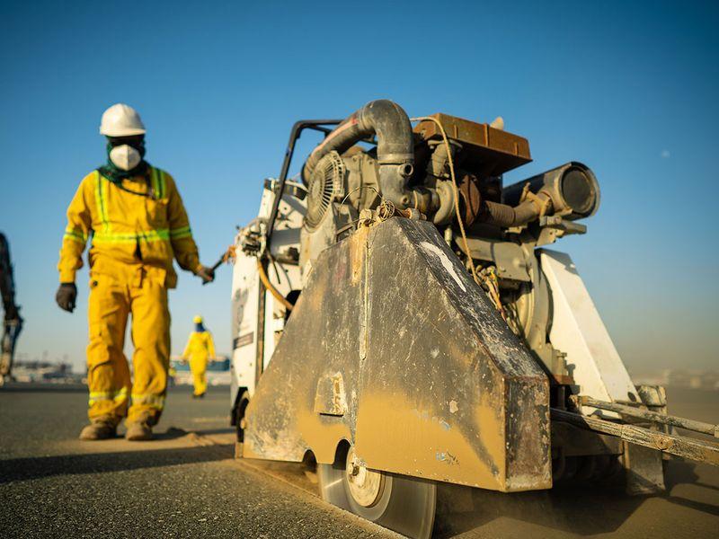 Watch: Behind the scenes as Dubai airport runway gets refurbished