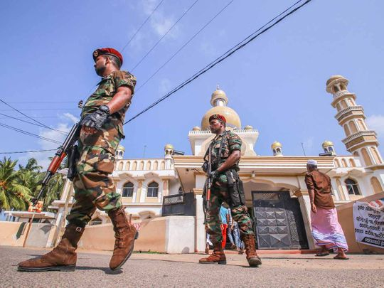 Sri Lanka security 20190507