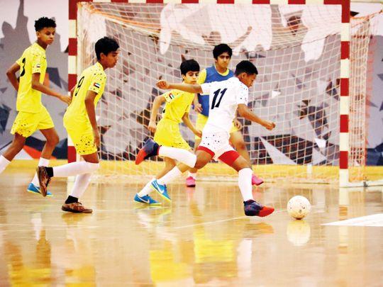 Teams lock horns for 4th Sharjah Ramadan Futsal Championship
